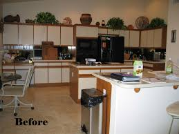 kitchen cabinet refacing before and after with photos laminate replacing doors ment lami new oak cabinets