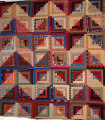 Civil War Quilts: 7 Log Cabin & The Log Cabin pattern with it's dark and light logs around a square center  (often a red center) dates to the 1860s when it was often pieced of the  printed ... Adamdwight.com