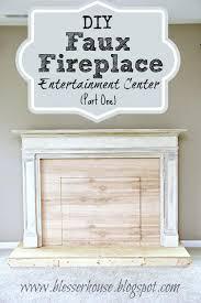 how to build a faux fireplace faux fireplace entertainment center part 1 build faux fireplace build