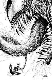 Venom Spiderman Disegno Illustrazioni Supereroi E Disegni
