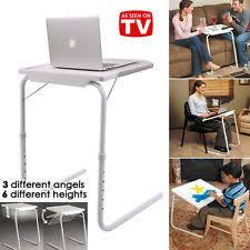 tv dinner table. foldable table laptop adjustable tray bed portable desk mate tv dinner office tv