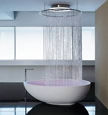 Modern Bathroom With Freestanding Tub And Shower Stock Photo Free Standing Tub With Shower