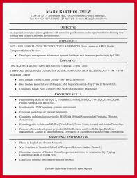 JPG College Resumes: Resume example of a new graduate