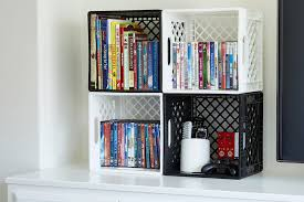 milk crate storage.  Crate Null Stack Horizontally For Easy Storage Turn The Classic Milk Crate  And Milk Crate Storage