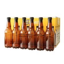coopers plastic pet bottles 500ml cap 24pk home brew beer lager bottling