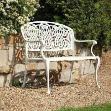 uk cast iron garden bench