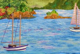 Step-by-Step Quilted Landscapes - iquilt.com & Appliqué ... Adamdwight.com