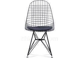 eames dkr wire chair  set of  (deluxe replica)