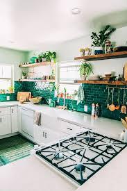 Tile Decor And More Boho Kitchen Reveal The Whole Enchilada Bohemian decorating 48