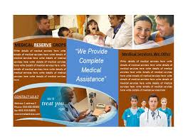 microsoft office catalog templates medical office brochures medical brochure template marketing