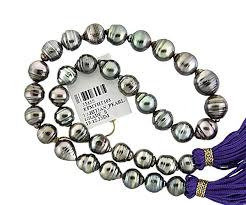 Drop Shape Pearl Tahitian Pearl Graduated 10 12 3mm Bella