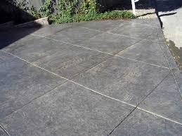 colored concrete flooring coloured
