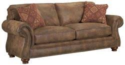 Traditional Sleeper Sofa Quick Ship With Nail Head Simple Design