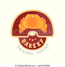 Bakery Shop Logo Design Template Badge For Bread Store Food Market