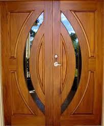 pintu utama double door design