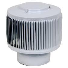 aura pvc vent cap 4 in dia exhaust vent with adapter
