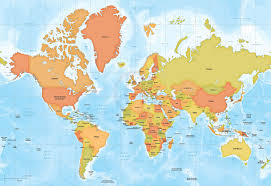 High Quality World Map 63 Marked World Map 1080p Pdf