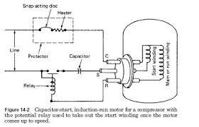 compressor start relay wiring diagram compressor motor start relays on compressor start relay wiring diagram