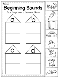 Phonics printable worksheets and activities (word families). Sorting Beginning Sounds This Mega Phonics Bundle Features 50 No Prep Worksheets Designed Fo Phonics Kindergarten Preschool Worksheets Phonics Worksheets Free