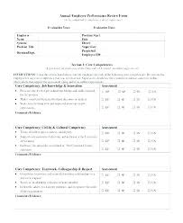 Sample Year End Performance Reviews Year End Performance Review Template Lastcolor Co