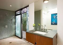 view in gallery a doorless shower