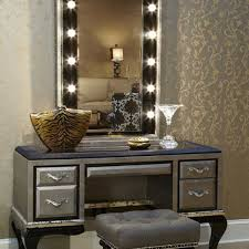 Classy Vanity Makeup Table And Additional Interior Home Inspiration For  Lights 85 With Precious As Wells Mirror Along.