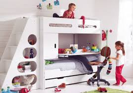 Innovative Loft Beds For Kids With Stairs Toddler Bunk Beds With