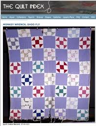105 best Quilts 1940 images on Pinterest | Jellyroll quilts ... & Thelma Radcliff, from Troy, West Virginia, made this cheerful Monkey Wrench  quilt in Adamdwight.com