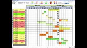 Access Gantt Chart Template Microsoft Access Interactive Gantt Chart