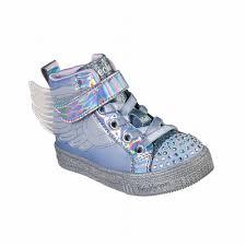 Skechers Toddler Light Up Shoes Australia Skechers Twinkle Toes Shuffle Lite Lil Sparkle Wings