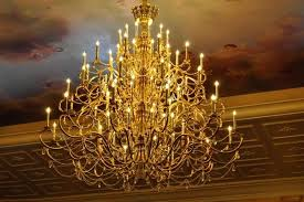 gorgeus chandelier from beauty and the beast