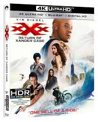 xXx Return of Xander Cage Blu ray Release Date Special Features.