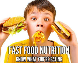 Nutrition Charts For Restaurants Fast Food Restaurants Nutrition Facts