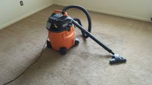 ridgid wd1450 wet dry vac and carpet and hard floor nozzle vacuuming carpet you