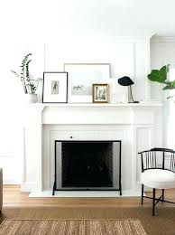 art above fireplace trendy design impressive nouveau mantel ideas