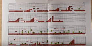 Watch Super Mario Was Originally Designed On Graph And Tracing