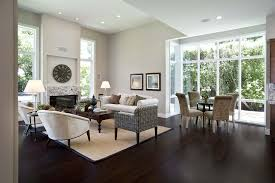 Best Rug Pads For Hardwood Floors Family Room Contemporary With Area Rug  Beige Wall. Image By: Mark English Architects AIA