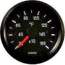 vdo gauges sensors speedometers tachometers available at vdo 250 1650f pyrometer temperature egt exhaust gas temperature gauge cockpit
