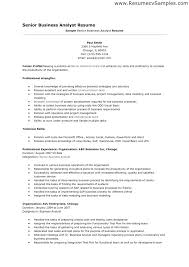 Business Analyst Resume Sample Business Analysis Cover Letter Retail