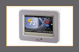 hvac thermostats programmable temperature controls johnson high resolution color touch screen digital room thermostats