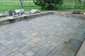 square landscape pavers square beautiful stone patio ideas square patio stone design