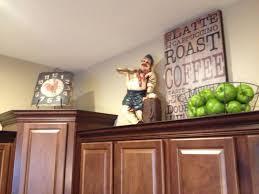 Above Kitchen Cabinet Decorations Impressive Inspiration