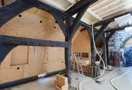 Neues Haus Im Fachwerkhaus Dachholzbau