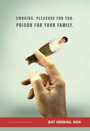 ad equates smoking turning our kids to ash persuade the lizard anti smoking ad persuade meter 2sf