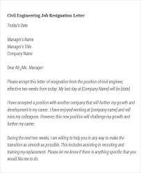 Two Week Resignation Letter Gorgeous 48 Sample Resignation Letters Sample Templates