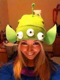 diy homemade toy story alien costume