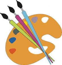 pincel con pintura. al pintar, hay que limpiar el pincel muy bien antes de cambiar color, y esperar a los colores pintados se sequen pintar con otros. pintura