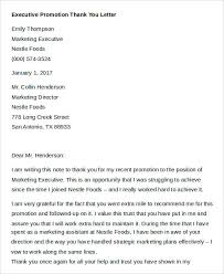 Thank You For The Hard Work Letter Sample Thank You Letters 60 Free Word Pdf Documents