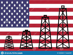 American Oil Industry Stock Vector Illustration Of Success