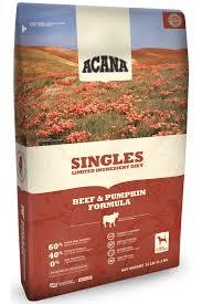 Amazon Com Acana Singles Beef And Pumpkin Formula Dry Dog